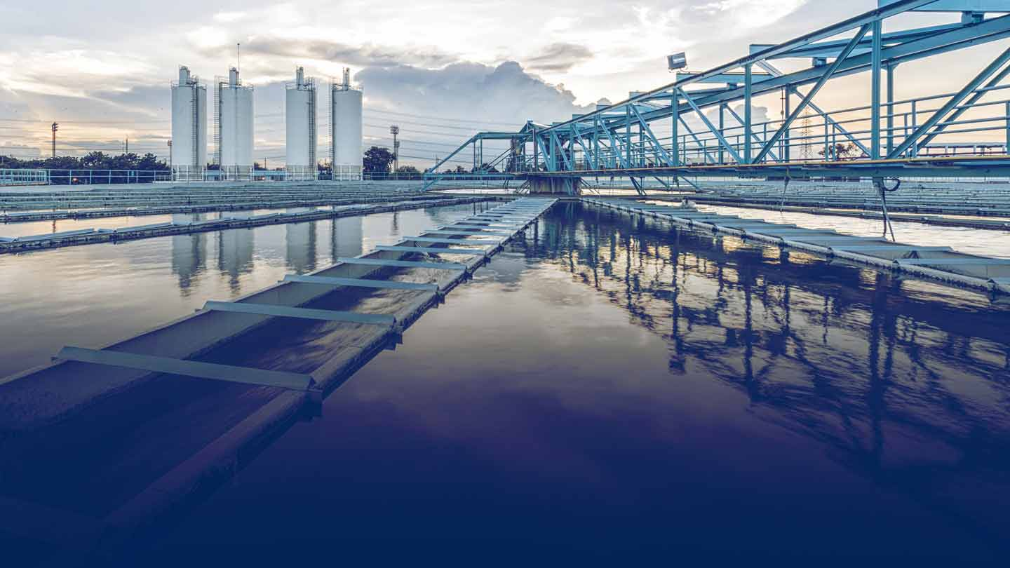 Water management plant
