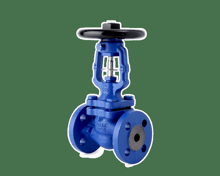 Bellows sealed stop valves
