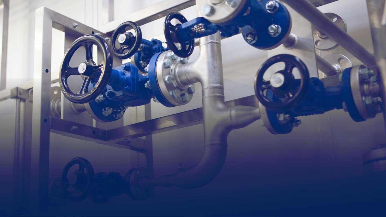 Bellows Sealed Stop valves installation