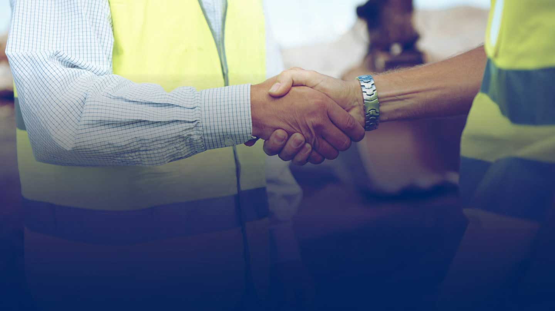 Spirax Sarco People shaking hands