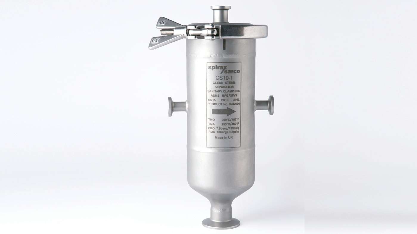 CS10 Clean steam separator