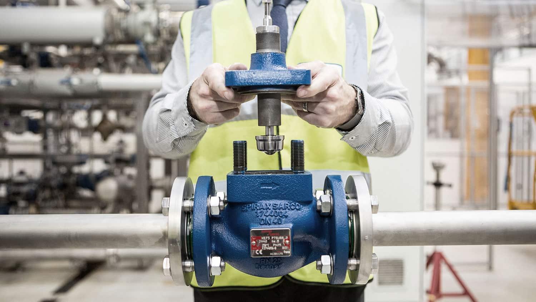 Spira-trol control valve