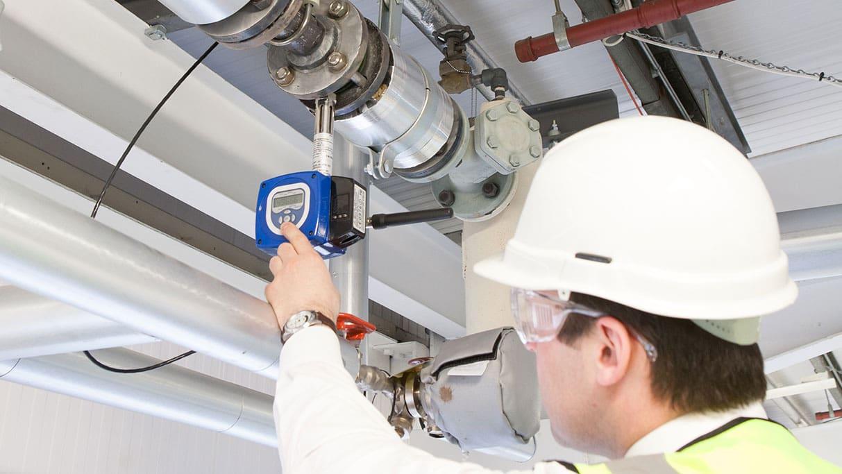 Target flowmeter installation