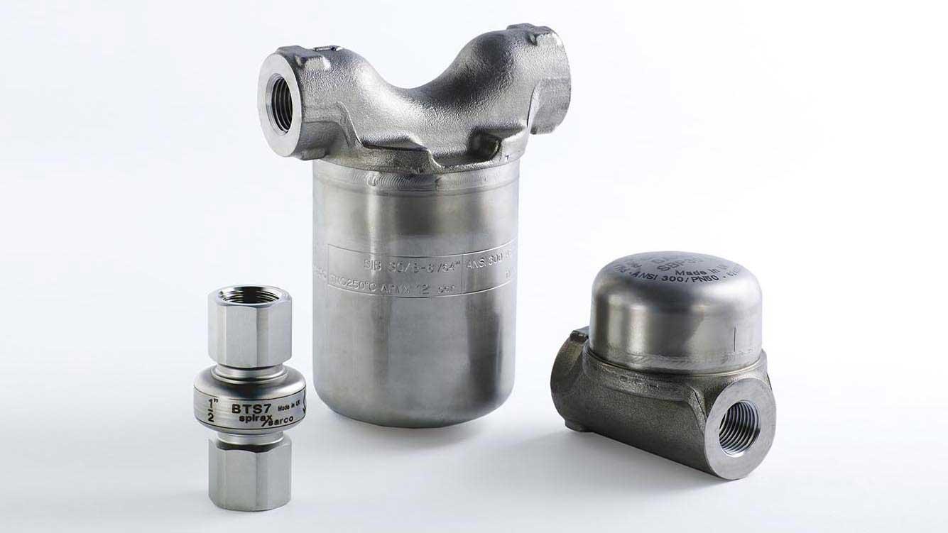 Inverted Bucket steam trap range