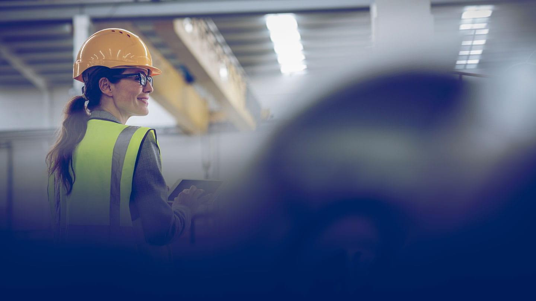 Engineer in PPE